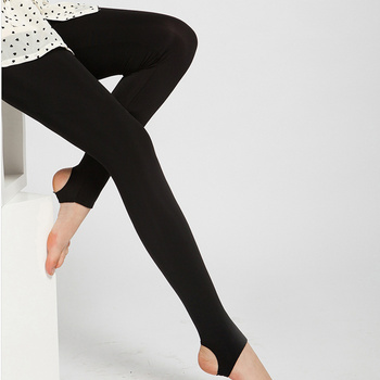 High waist leggings Female autumn and winter elastic figure flattering pants