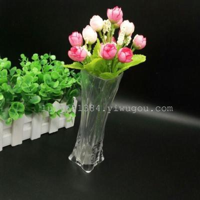 Plastic small vases innovation Office of the small vase small vase