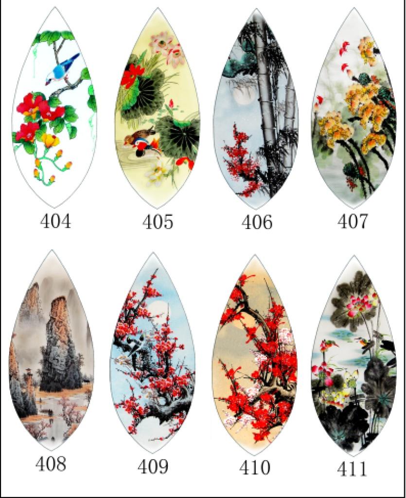 大量供应旅游工艺品中国风创意叶脉画书签