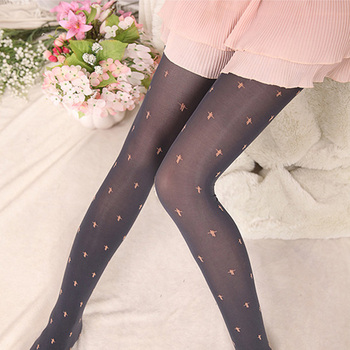 Candy color rendering silk stockings female velvet pantyhose candy colored pantyhose sails
