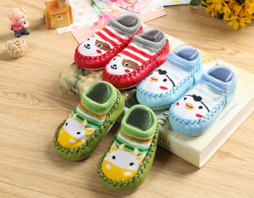 2016 short waisted anti-skid floor socks children toddler children socks socks short tube shoes