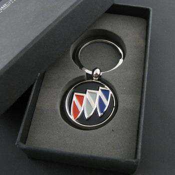 金属别克车标钥匙扣钥匙链创意汽车挂件男士女情侣钥匙环