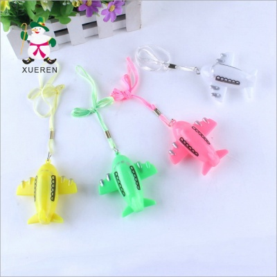 Super creative cartoon toy plane winter flash pendant lighting toy stall children children's toys wholesale supply