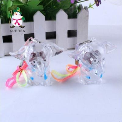 East super cute cartoon Elephant Pendant toy flash flash toys wholesale market selling children