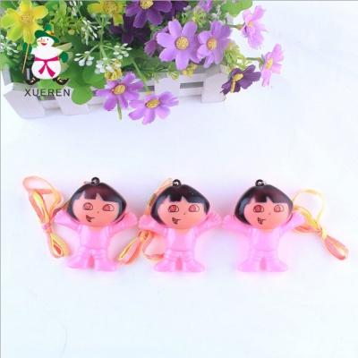 Manufacturers selling Yiwu goods stall flash toy wholesale new Dora Home Furnishing pendant pendant light
