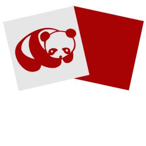 家居装饰diy创意手工磁性剪纸熊猫4小礼品送客户