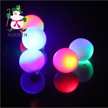 Toys transparent light emitting AG10 colorful flash electronic products accessories wholesale lighting products