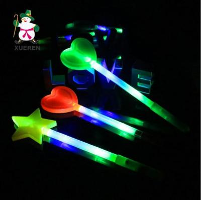 The new creative light stick love star lightsticks singing wield flash stick cheering props wholesale