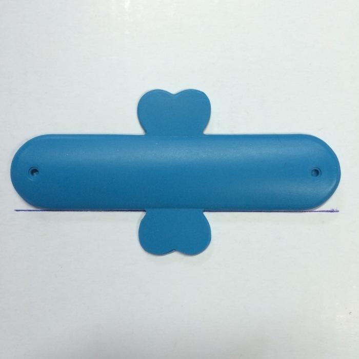 手机支架 手机背贴支架 U型硅胶支架 印字LOG