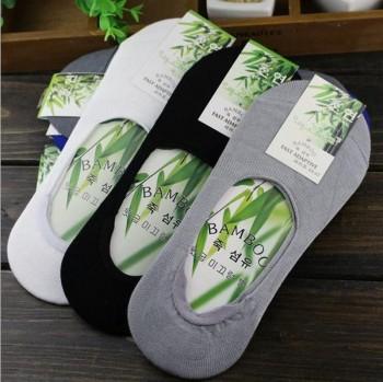 Men's socks manufacturer of bamboo fiber contact thin shallow mouth socks socks