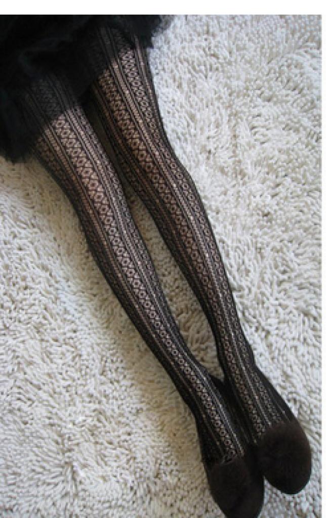 清新小花花 性感网袜 连裤袜清凉MM夏季必备 好质量