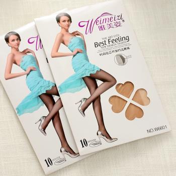 10D summer female super thin core wire anti hook silk plus fertilizer increase code flesh colored stockings