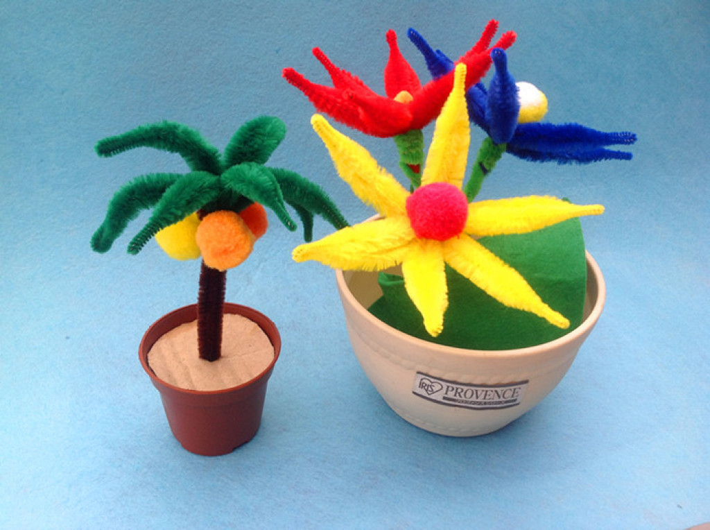 植物手工制作大全图片幼儿园