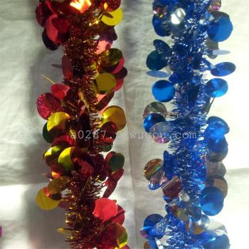 Direct selling Christmas festival decoration color tops / /9cm thick ribbons 2 meters long