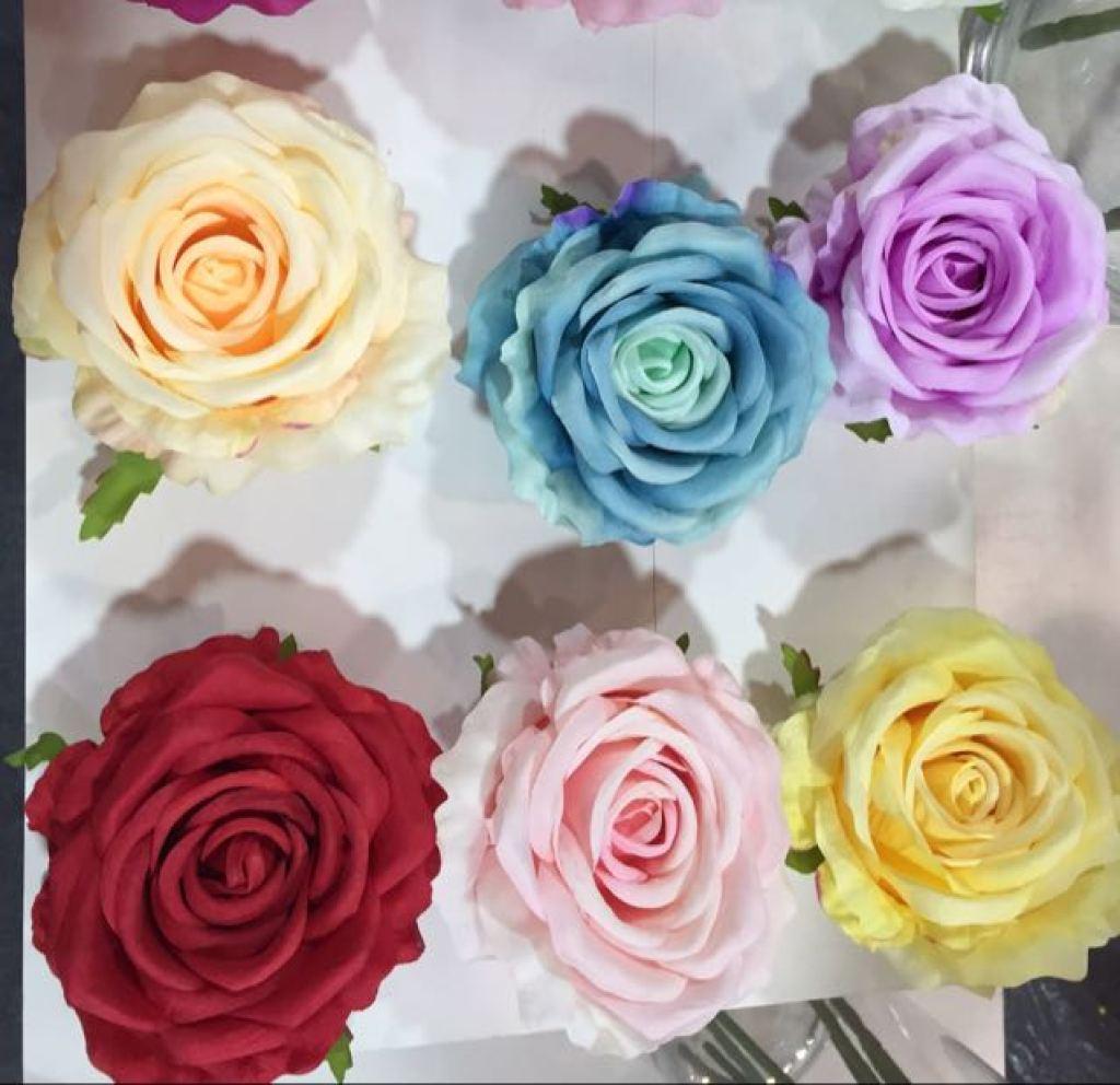 手工制作 步骤 玫瑰花展示