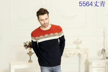Itami slave jacquard weave wool sweater cashmere thermal underwear with thickened section