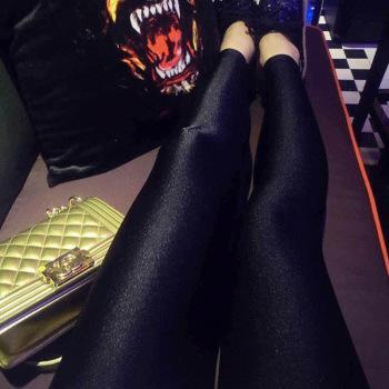 Portugal gloss pantyhose Leggings stovepipe socks pants, spring Leggings