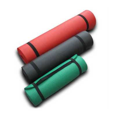 Yoga mats of thick NBR foam mat green yoga mats exercise mats