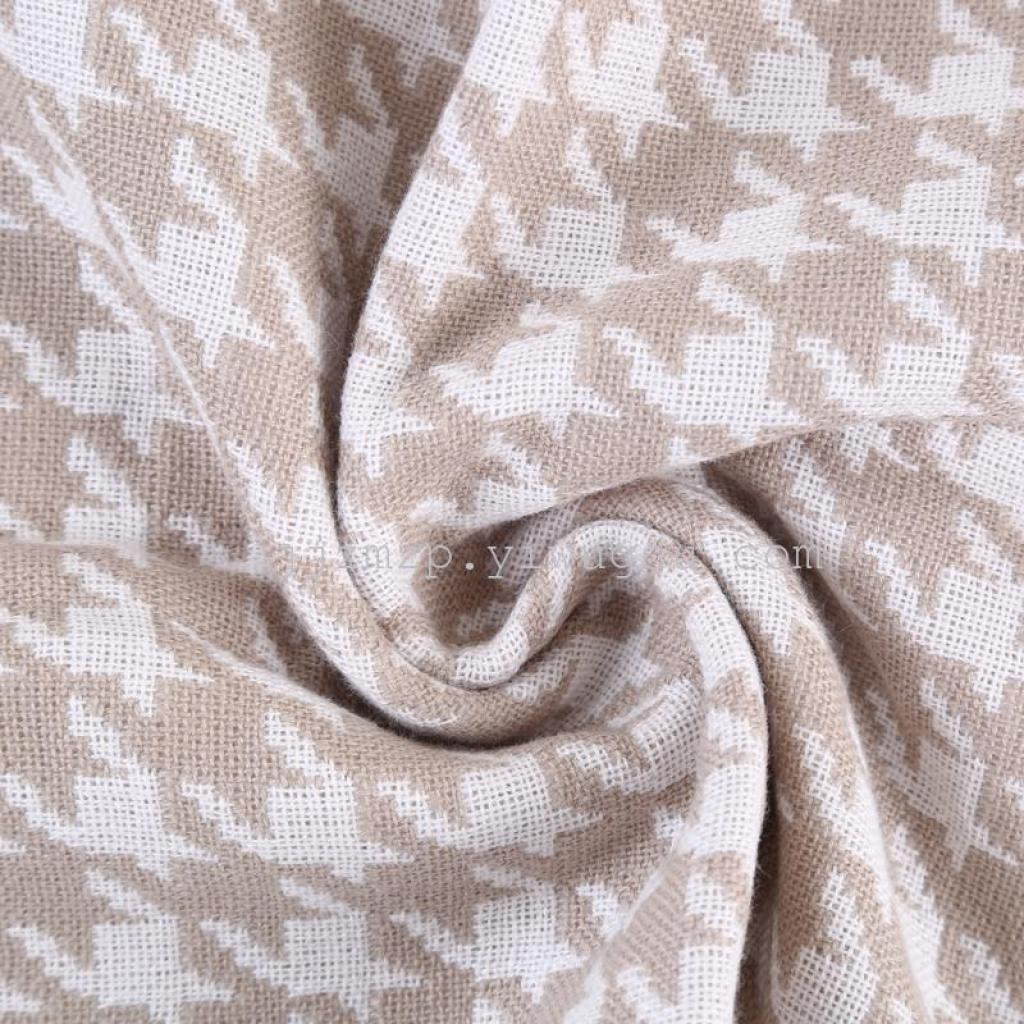 2016新款格子图案毛巾