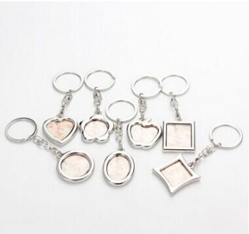 Key ring photo frame pendant wedding gift souvenir
