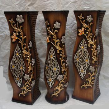 60 cm high temperature ceramic brown wood vases in the warm flower flower accessories