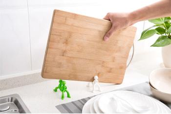 creative kitchen knife rack bracket villain chopping 10 inch professional chef s knife creative kitchen