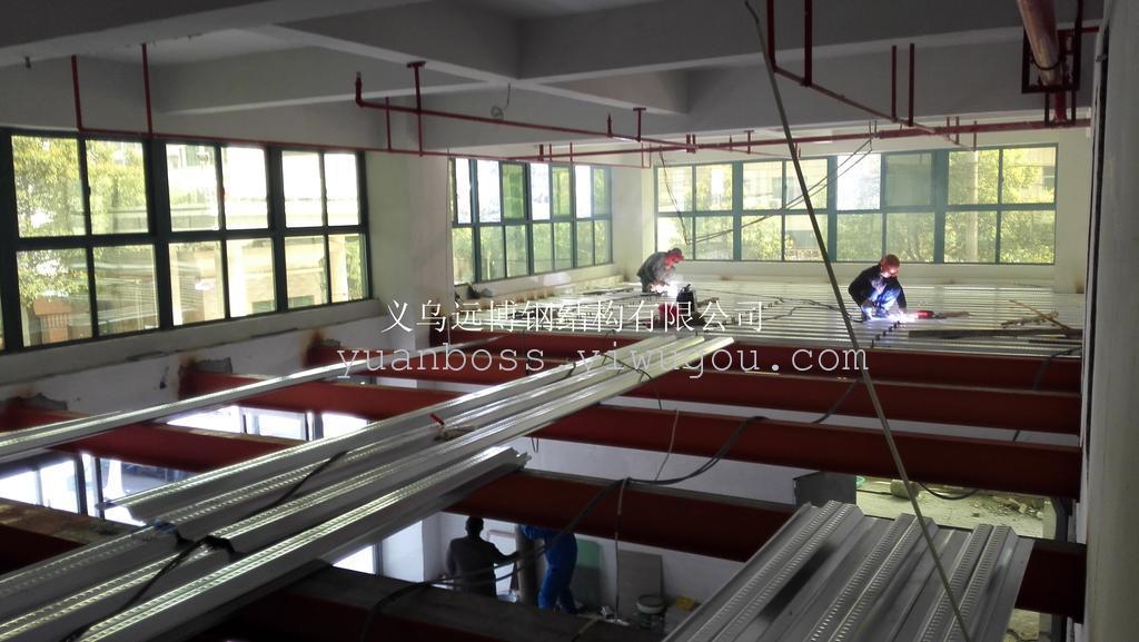 钢结构标准厂房 钢结构仓库 夹层,钢结构外贸