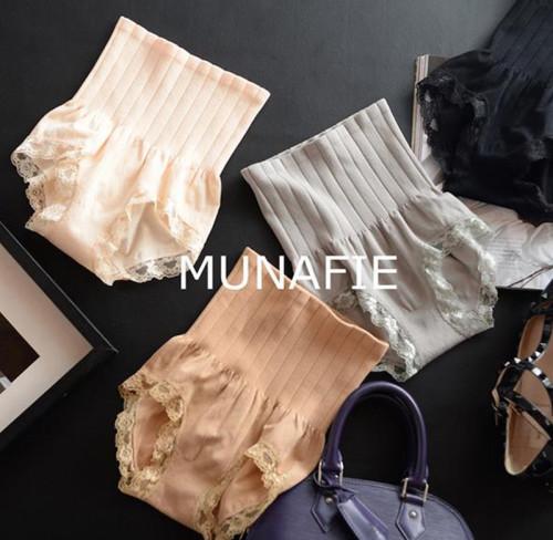 Japan's new MUNAFIE seamless underwear waist slimming