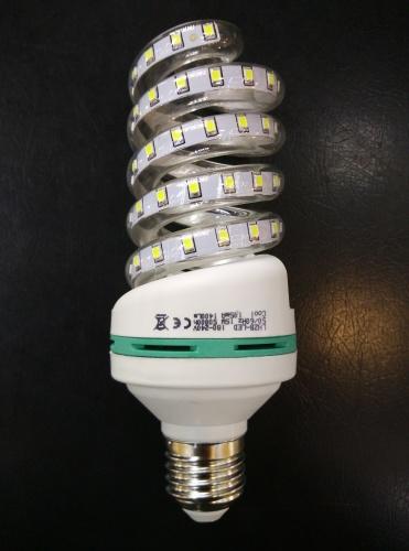 High brightness LED spiral lamp 15W energy saving lamp LED lamp factory direct sales