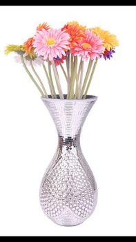Modern minimalist glass mosaic vase table living room decoration crafts Home Furnishing wedding decoration