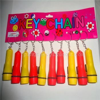 New fashion mini electronic toys gift card hanging lamp flashlight 668