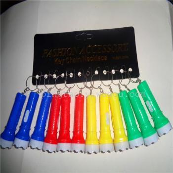 New fashion mini electronic toys gift card hanging lamp flashlight 3938