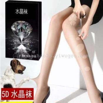 5D thin crystal socks any shear hook silk pantyhose thin socks stockings