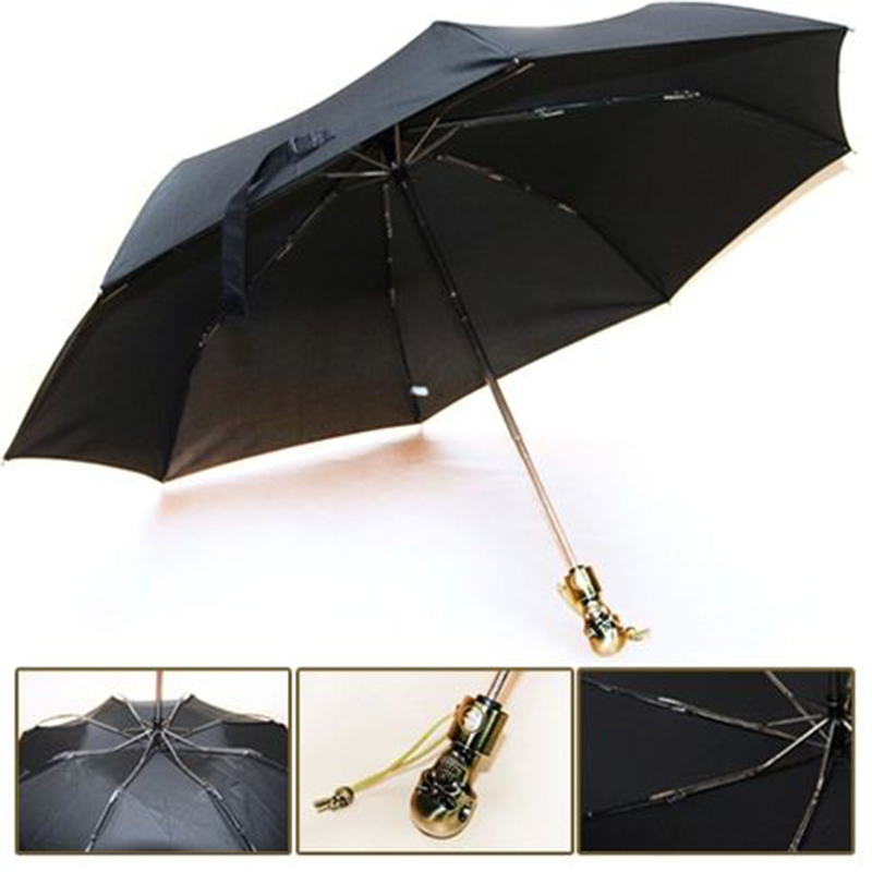 [3029b] crâne repliement automatique de trois cadres 01 parasol
