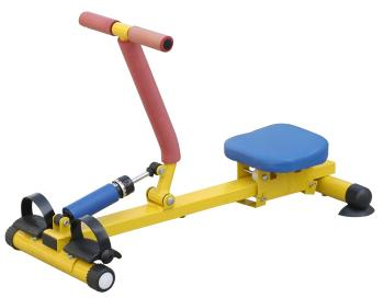 Monorail children rowing fitness equipment BoatingApparatus toys