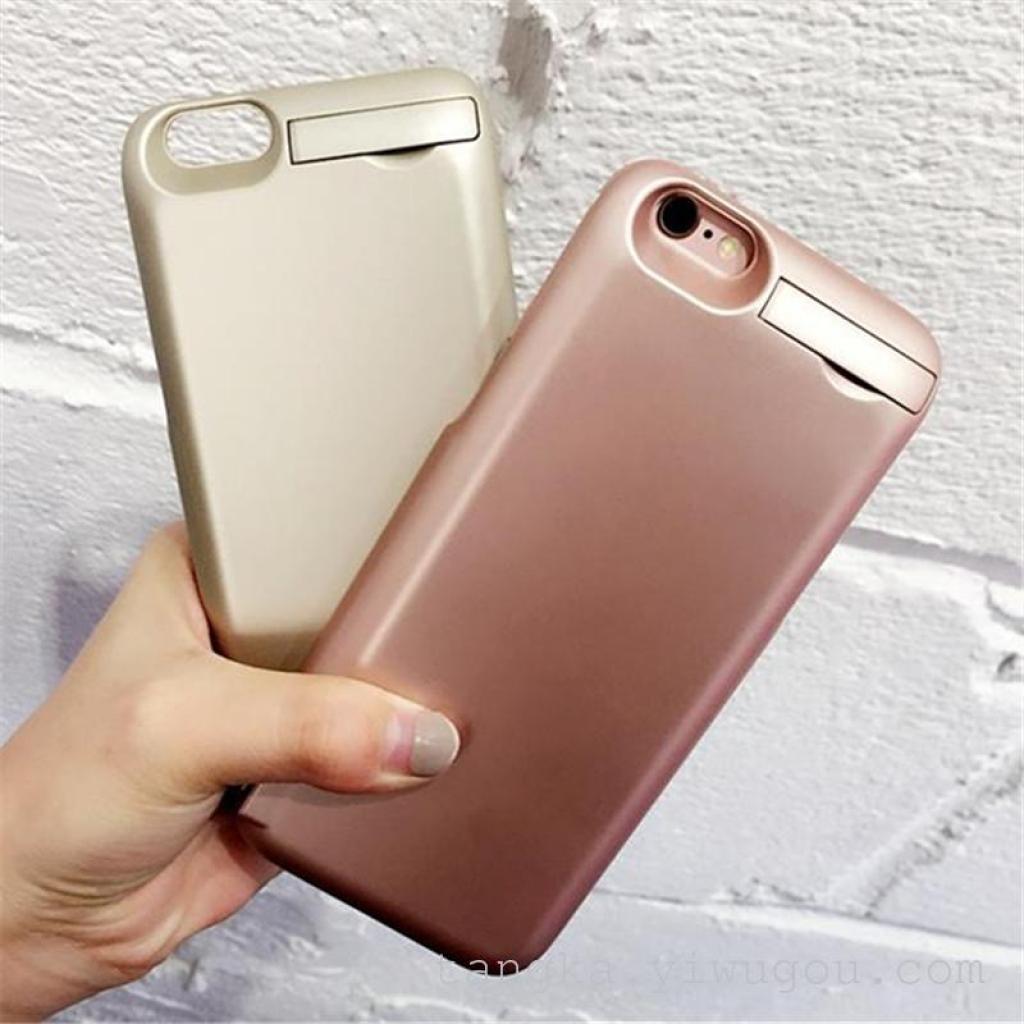 无线充电宝苹果6plus背夹电池手机壳套