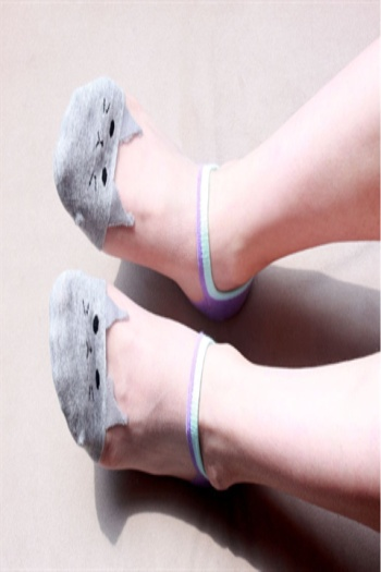 Cat glass stockings spring summer Tmall Taobao supply socks