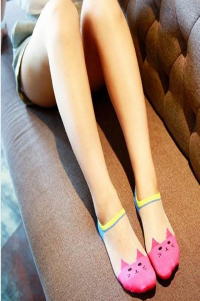 猫咪玻璃丝袜 春夏透气淘宝天猫货源袜子