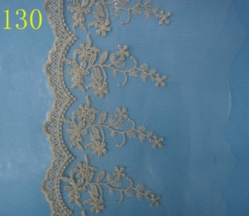 Gold lace lace lace accessories crafts polyester fabric