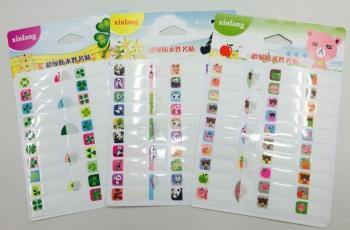 un subacqueo nome adesivi diy classe adesivi scritto in coreano adesivi adesivi
