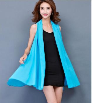 Real summer new variety of sunscreen clothing in the long shawl female loose Chiffon cardigan variety