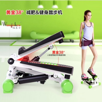 Multifunctional household mute treadmill machine hydraulic stepping exercise fitness equipment home