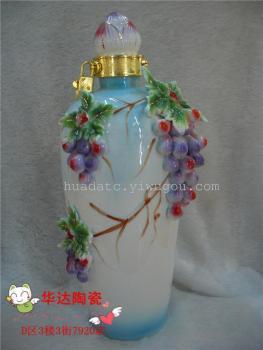 工艺品 工艺品摆件 陶瓷摆件 精品酒具图片