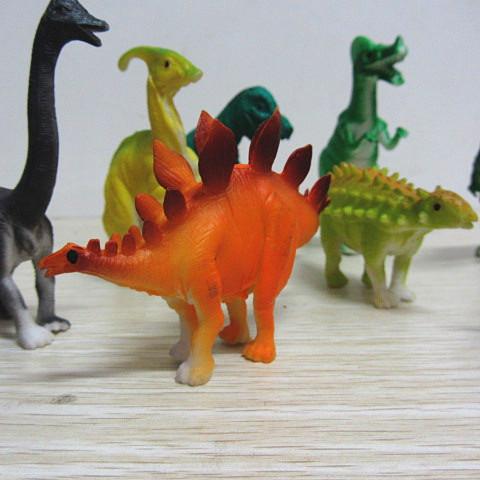 恐龙世界动物玩具系列 8568  pvc袋装 8恐龙动物