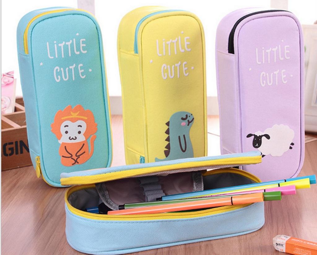 创意可爱笔袋大容量学生铅笔盒多功能韩国文具盒 笔袋图片