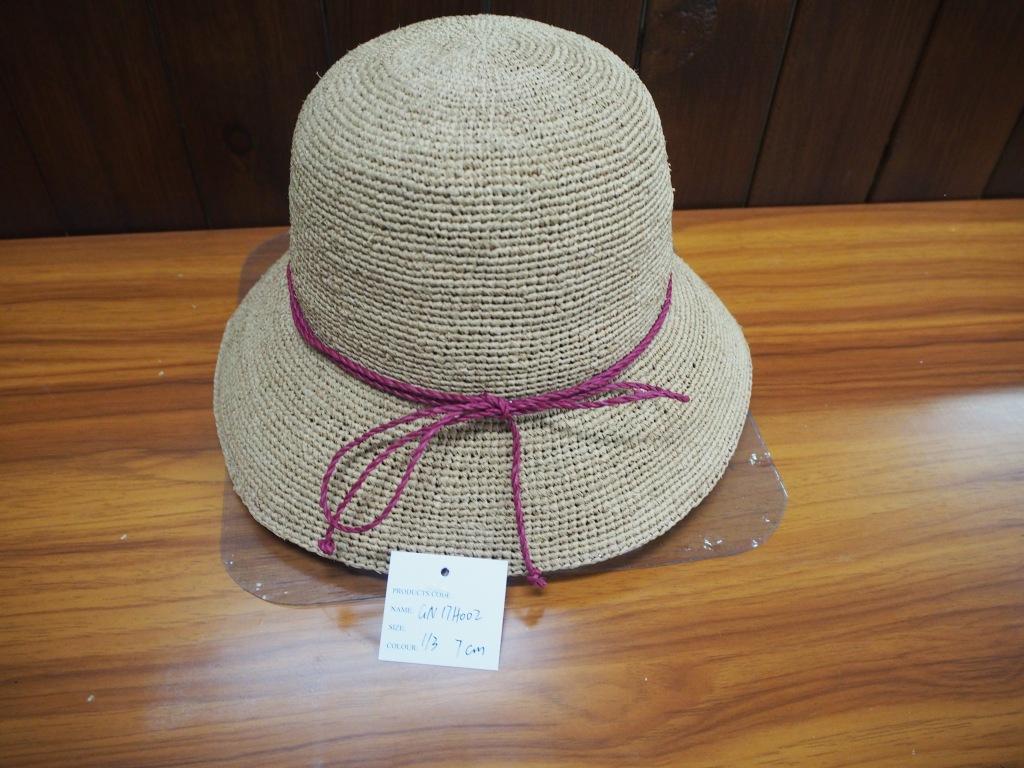 拉菲草帽子
