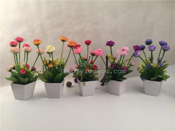 Artificial flowers flower bonsai bonsai Creative Suite living room home decor TV cabinet decoration
