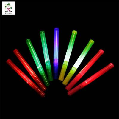 Factory direct 28CM flash stick concert colorful light sticks stick plastic support rods