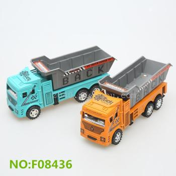 2015 new toys wholesale inertial toy car model trailer transport engineering vehicle