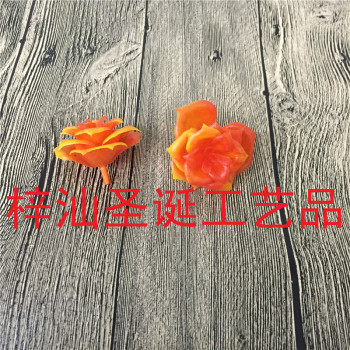 Simulation of plant plastic small rose flower crafts accessories wholesale
